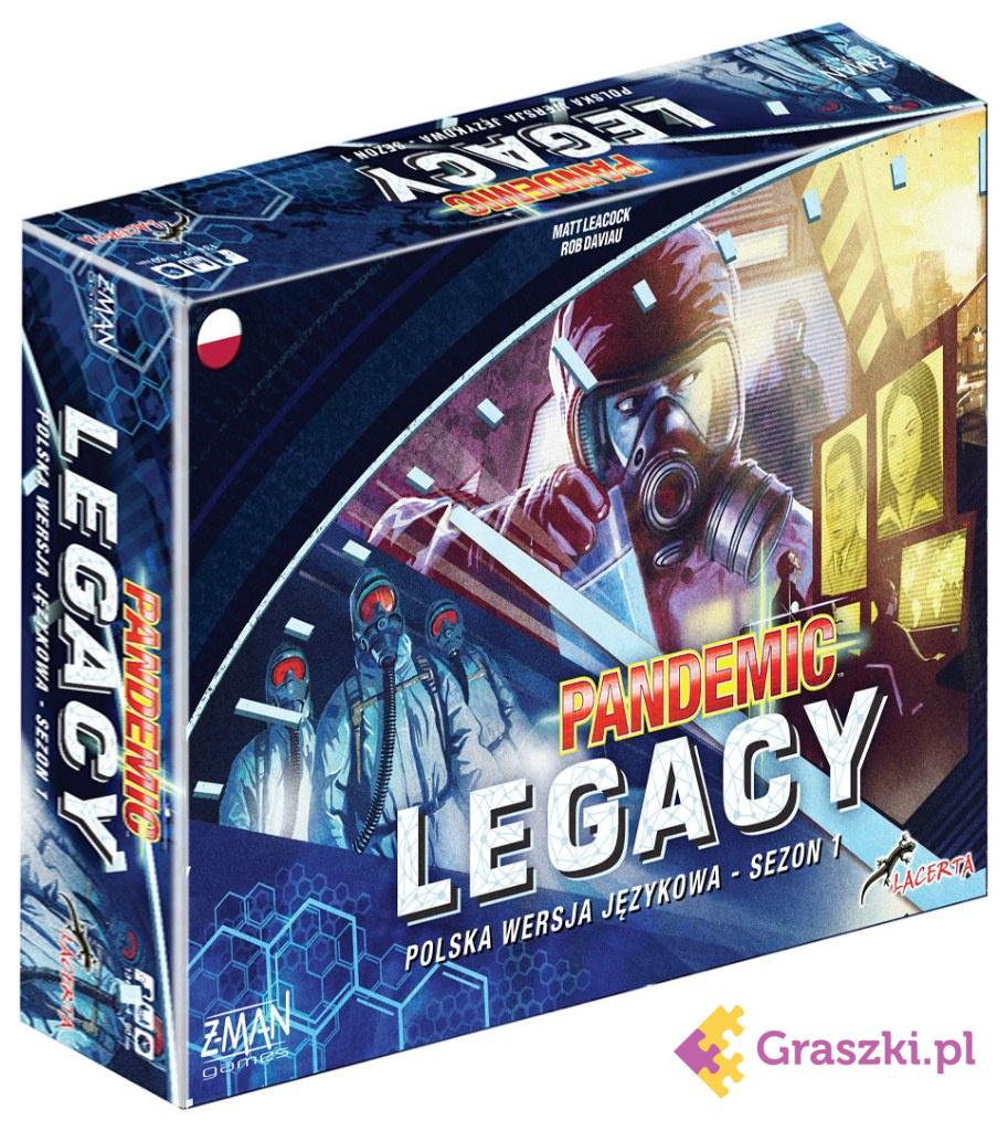 Pandemic Legacy (Pandemia) - Edycja niebieska (przedsprzedaż) DARMOWA DOSTAWA